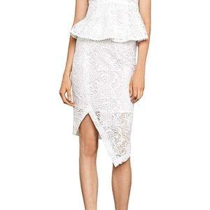Bcbgmaxaria lace pencil skirt